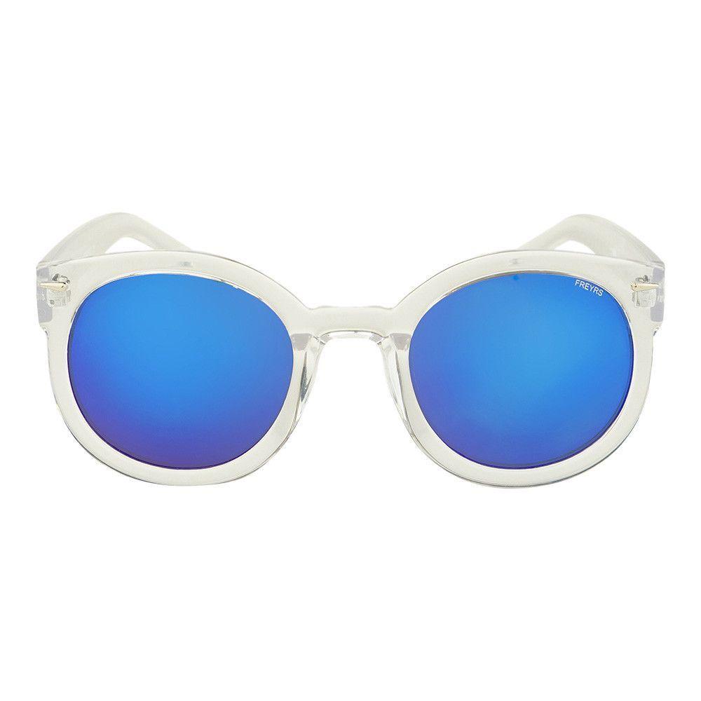 Odelia Large Round Sunglasses
