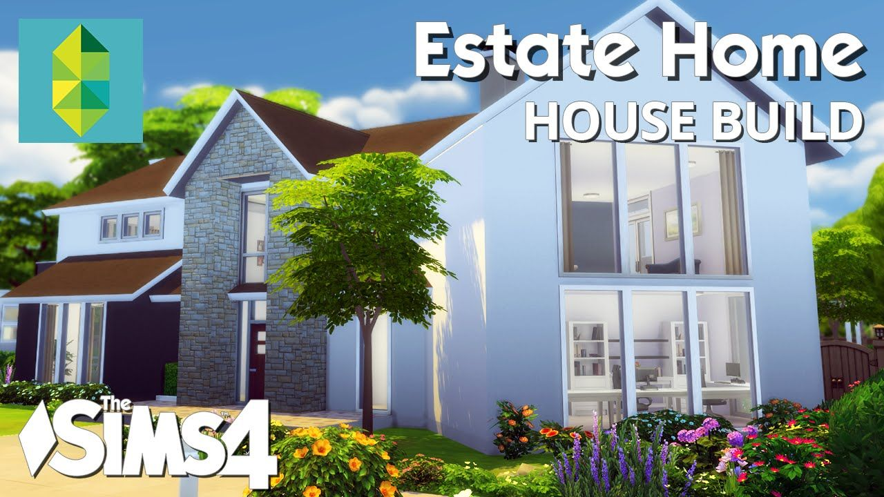 The Sims 4 House Building Estate Home Courtyard House Plans