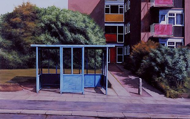 Turner Prize nominee George Shaw explains how a run-down corner of his home   town fires his imagination.