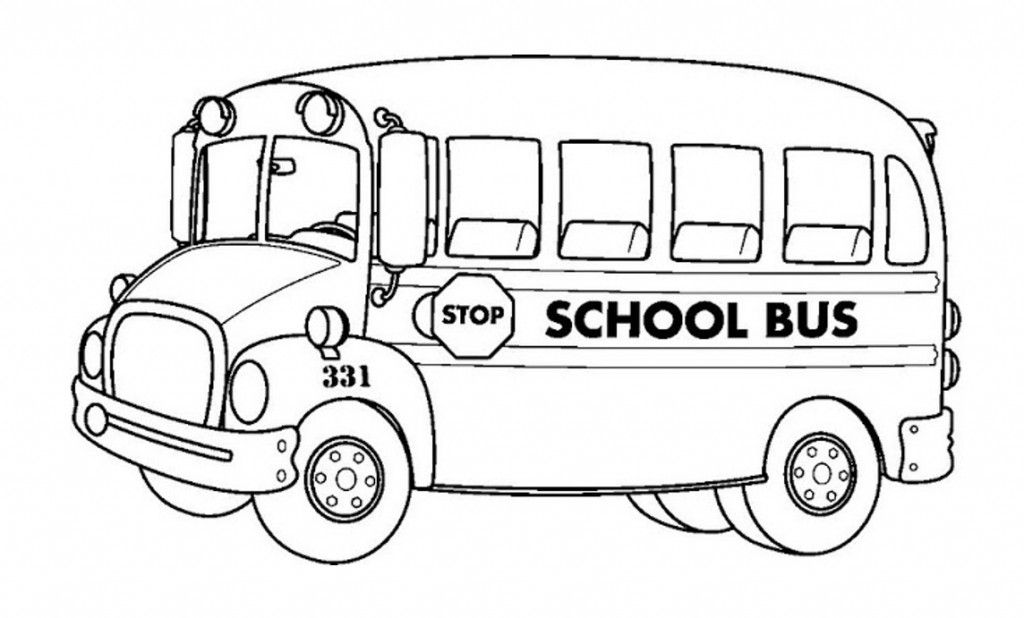 Free Printable School Bus Coloring Pages For Kids School Bus