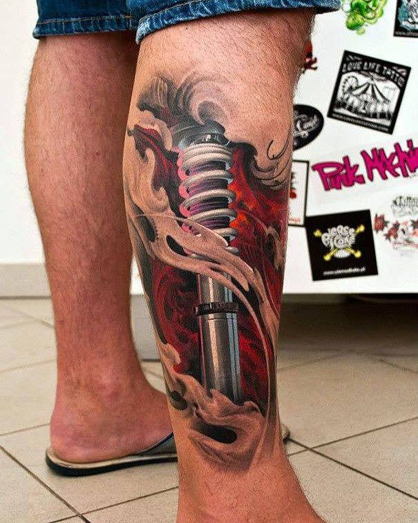 Silo Tattoos Incredible Body Art Masterpieces That Look: Incredible 3D Tattoos #art #awesome #Tattoo #fashion