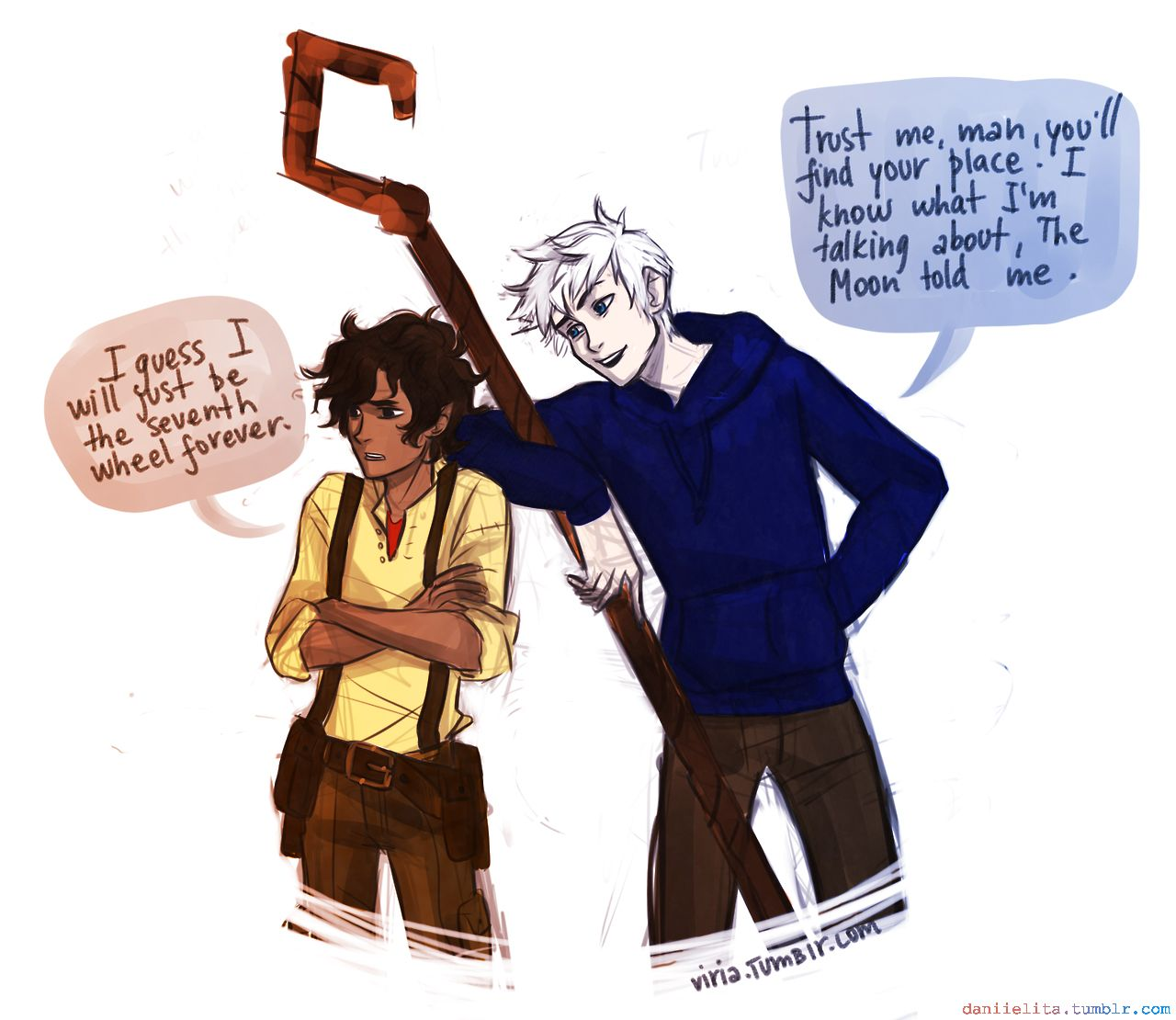 "Viria - ""Leo Valdez and Jack Frost"" (The Heroes of Olympus ..."