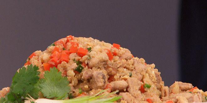 Курица с капустой и рисом – кулинарный рецепт.