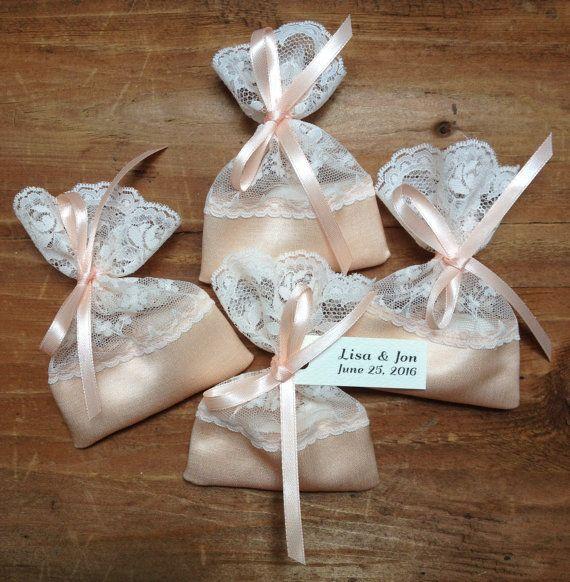 Jordan Almond Bags Lace Favor Italian By Theweddingbirds