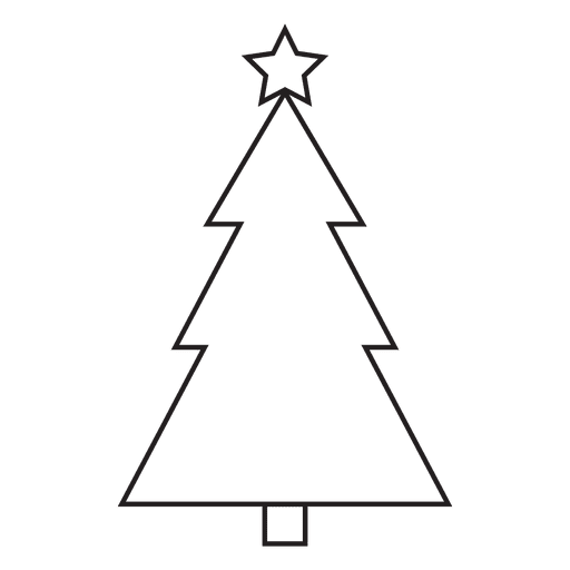 Christmas Tree Stroke Icon 87 Transparent Png Icon Christmas Tree Graphic Image