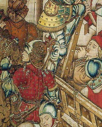 """des tapisseries """"Histoire d'Alexandre"""" et """"la vie de césar"""", Flandres/Bourgogne…"""
