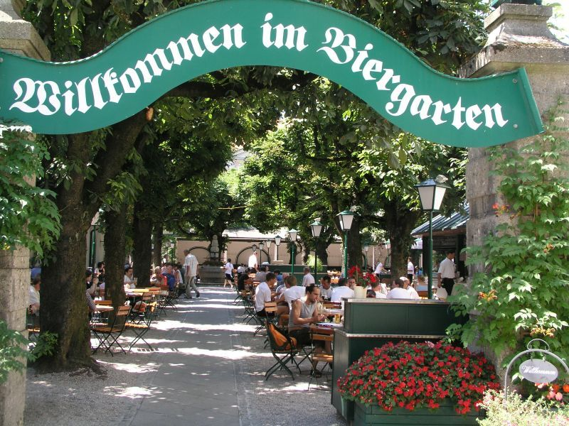 Image result for biergarten