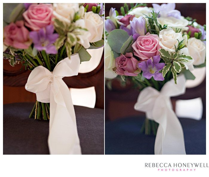 August flowers for Annette and Rob's wedding by Twisted Willow. Photo by Rebecca Honeywell at Goldsborough Hall