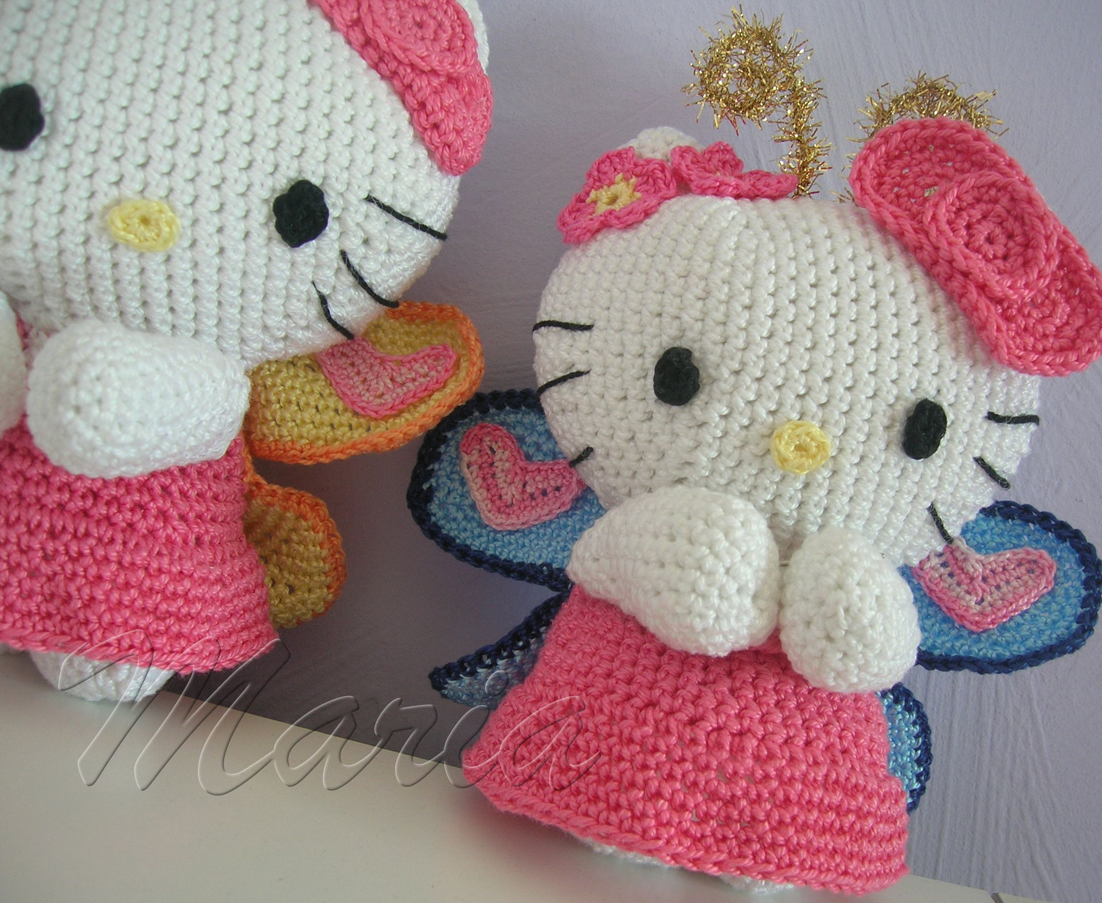 crochet kitty - Google Search