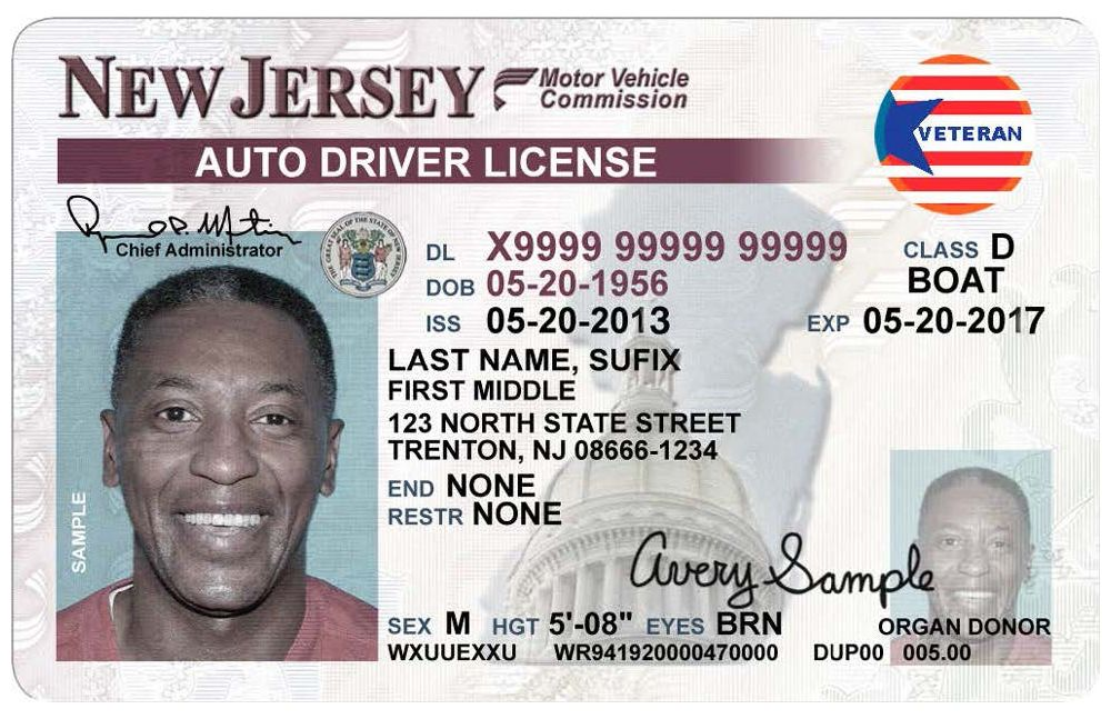 nj drivers license organ donation