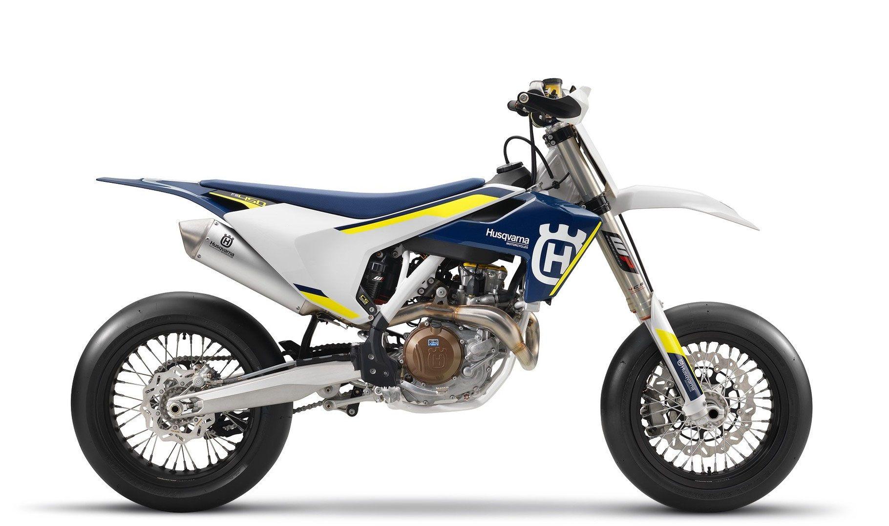 Husqvarna FS450 Supermoto Husqvarna Motorcycles had a