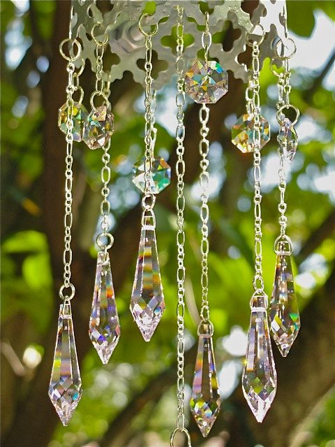 Norah June needs this above her crib!     Moroccan Mobile Swarovski crystal pretty by Susanelizabethjewels