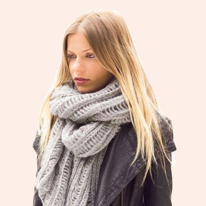 Grey So Cozy Scarf