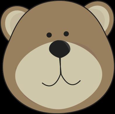 Brown Bear Head Clip Art Brown Bear Head Image Bear Head Bear Brown Bear