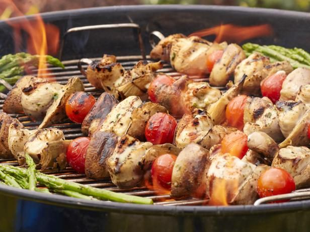 Get Napa Grilled Chicken Kebabs Recipe From Food Network Summer