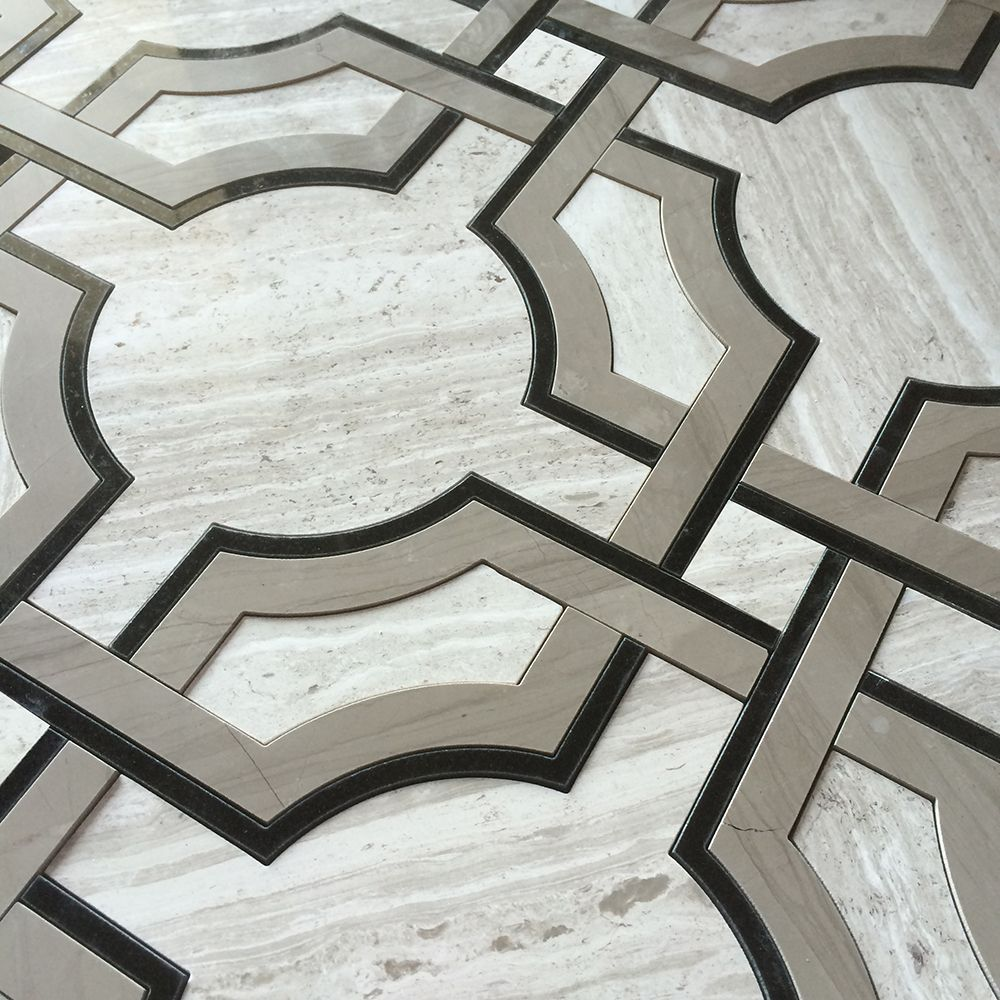 Pin By Yvonne Desjarlais On Salmon Berry Contemporary Tile Marble Tiles Tiles
