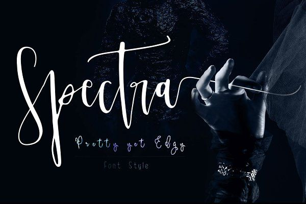 Spectra font family opening sale script fonts