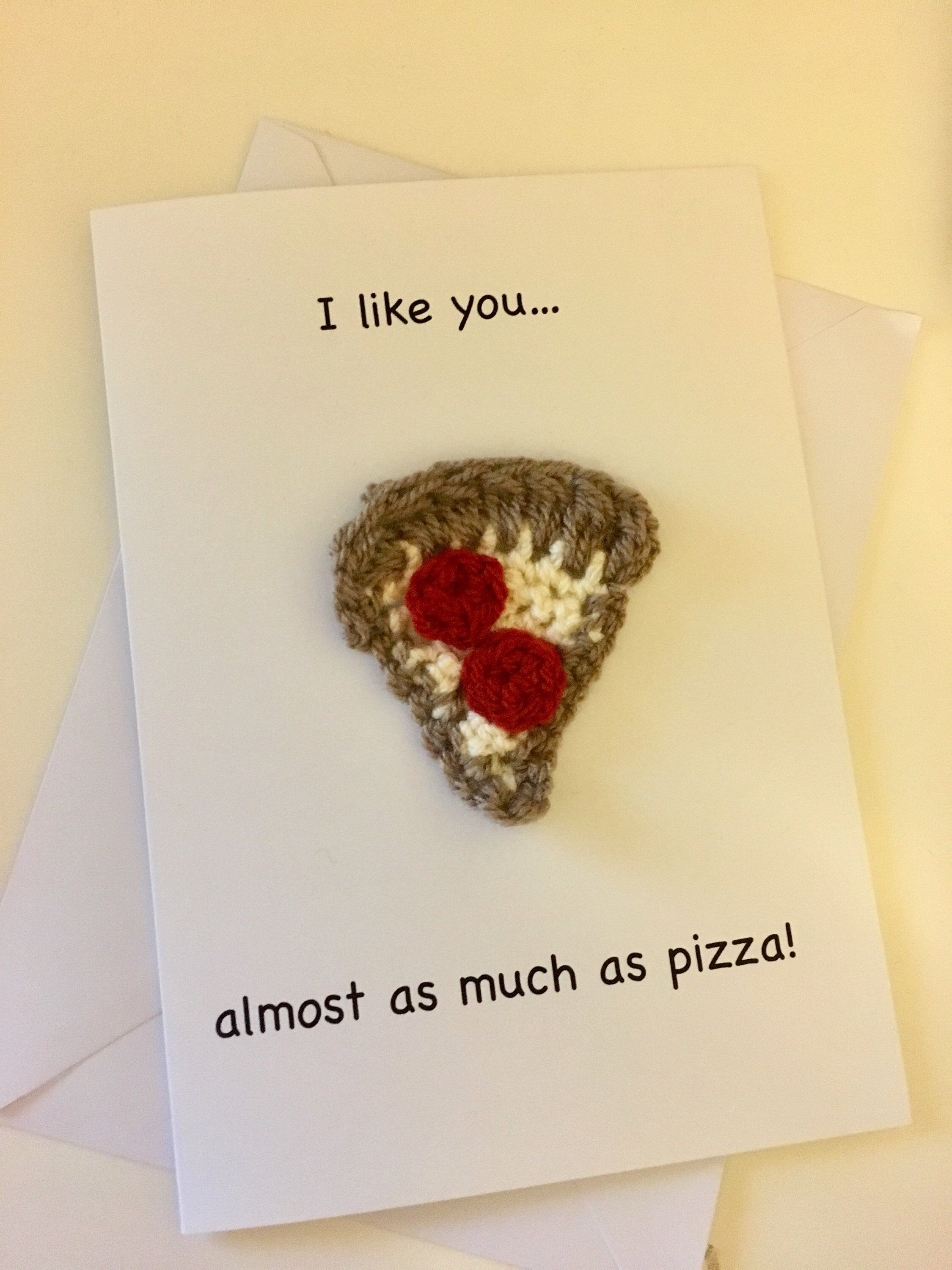Pizza lover handmade novelty card greetings card for birthday excited to share this item from my etsy shop pizza lover handmade novelty card m4hsunfo