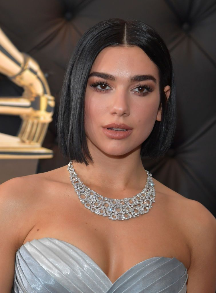 Dua Lipa attends the 61st Annual GRAMMY Awards at Staples Center on...,  #61st #Annual #attends #Awards #Center #Dua #dualipacabellocorto #GRAMMY #Lipa #Staples, LOS ANGELES, CA - FEBRUARY 10: Dua Lipa attends the 61st Annual GRAMMY Awards at Staples Center on February 10, 2019 in Los Angeles, California. (Photo by Lester Cohen/Getty Images for The Recording Academy) Siempre lo digo: aunque...