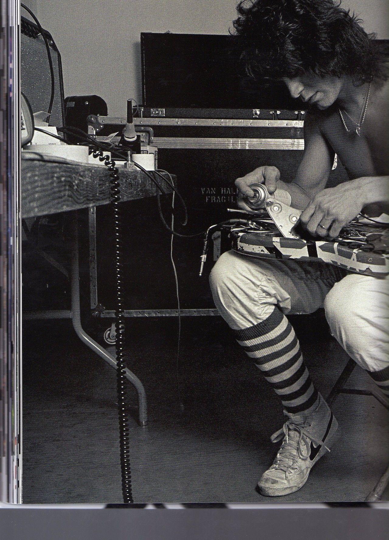 Llittledreameer Eddie Van Halen Van Halen Alex Van Halen