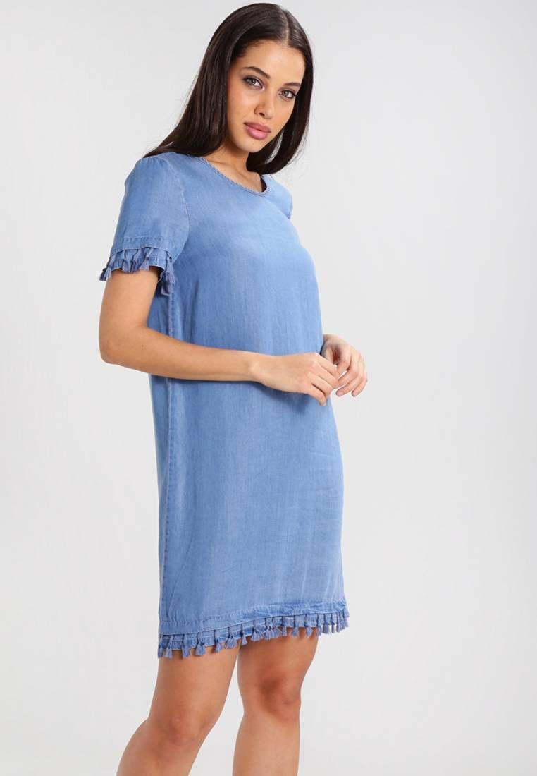 huge discount 97fff 6a444 NMDITA - Vestito di jeans - medium blue denim. Lunghezza ...