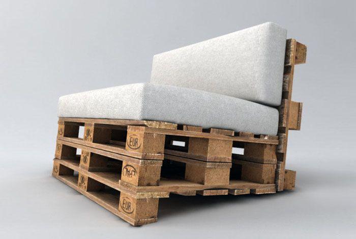 sofa-aus-paletten-bauen-anleitung | gardenprojects | Pinterest ...