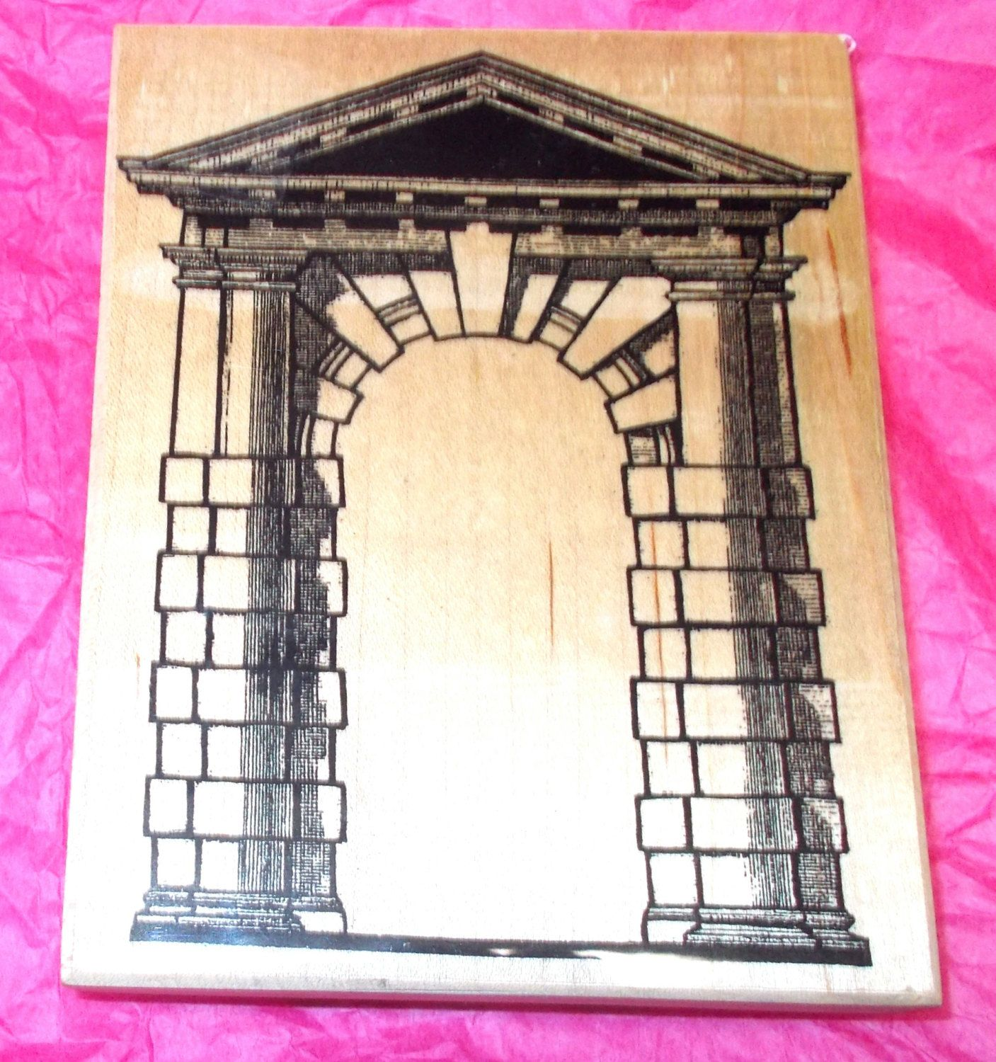 Postmodern design greco roman shrine rubber stamp paper crafts postmodern design greco roman shrine rubber stamp paper crafts frames wood mounted collage art stamps rubber stamping card making ar2 105 k jeuxipadfo Choice Image