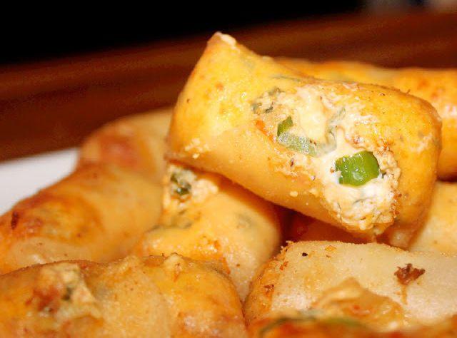 Crispy Cheesy Asian Rangoon's