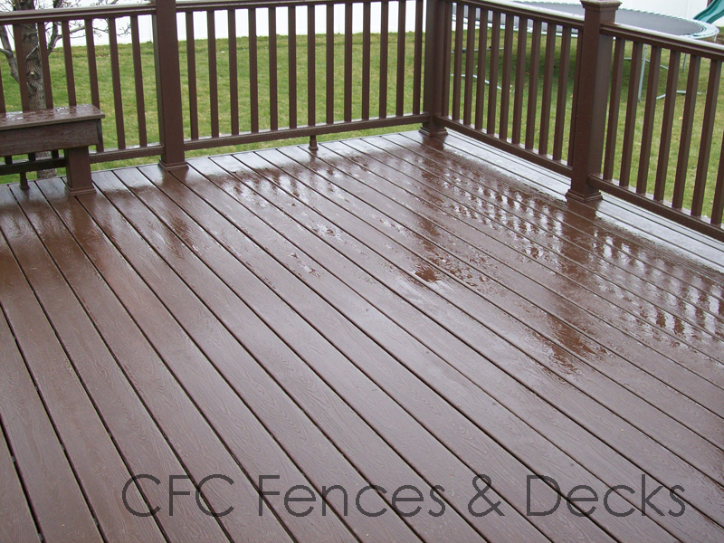 Trex Deck In Woodland Brown