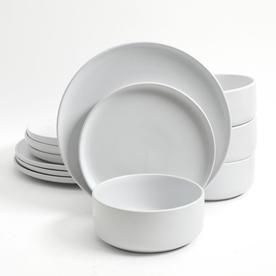 Gibson Home White Dinnerware 849105007M #casualdinnerware