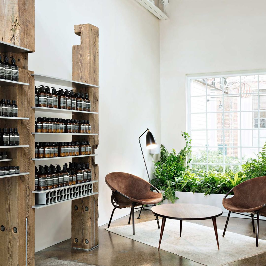 Home Decor Stores Nashville Tn: Aesop Edgehill Is A Minimal Store Interior Located In
