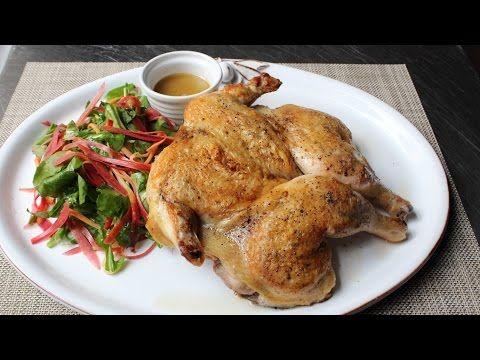Chicken Under A Brick How To Make Chicken Roasted Under Bricks