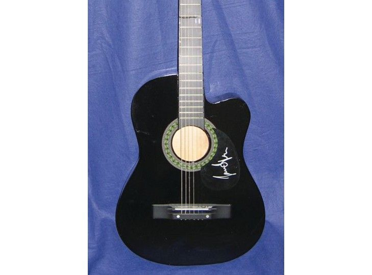 James Taylor Signed Guitar at PFC Auctions #music #guitars #auction #news