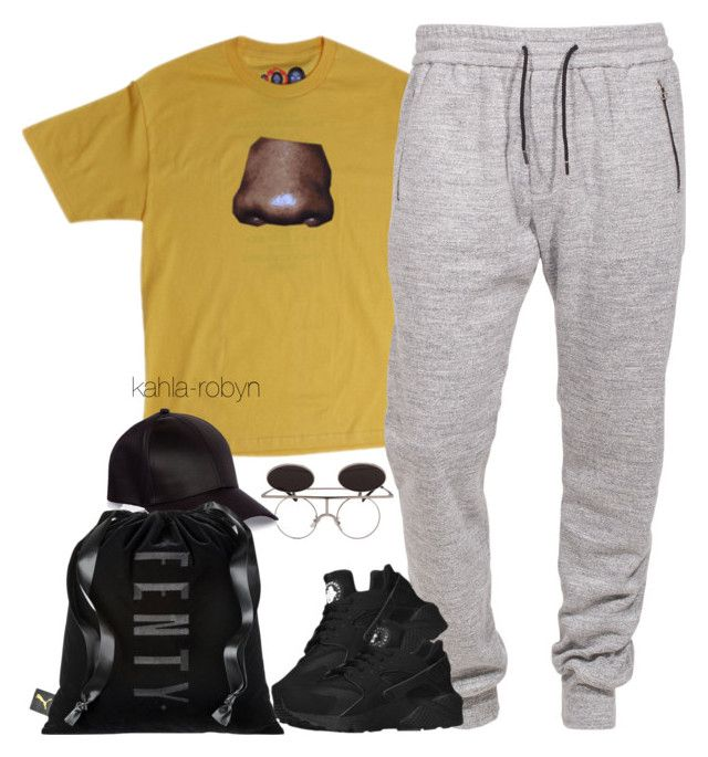 """""""6 27 16"""" by kahla-robyn ❤ liked on Polyvore featuring Boulezar, NIKE, River Island and Quarry"""