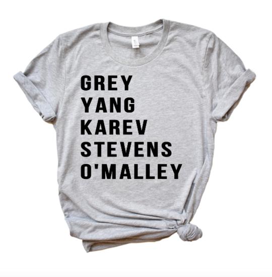 Grey S Anatomy Tee Maggie Jean Company Pinterest Greys Anatomy