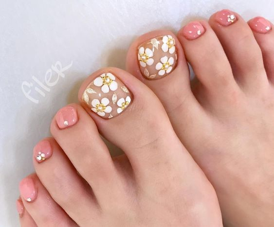Don T Underestimate The Importance Of Self Care Or The Impact It Can Have On Your Mental Well Being Hav Cute Toe Nails Pretty Toe Nails Pedicure Nail Designs