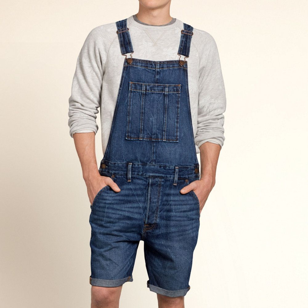 Guys Hollister Overall Shorts | Guys Jeans & Bottoms | HollisterCo.com