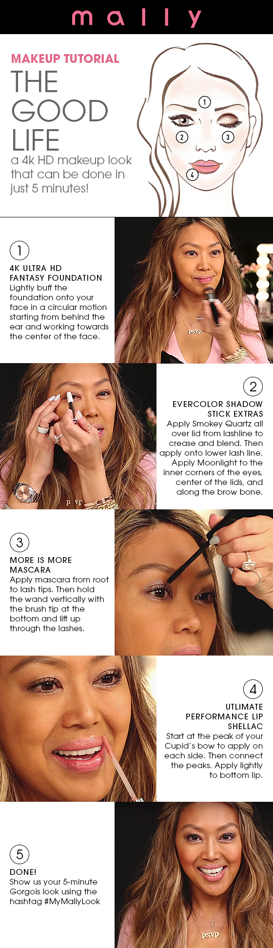 Looking For A Gorgois Spring Makeup Look That You Canplete In 5 Minutes  Or Less