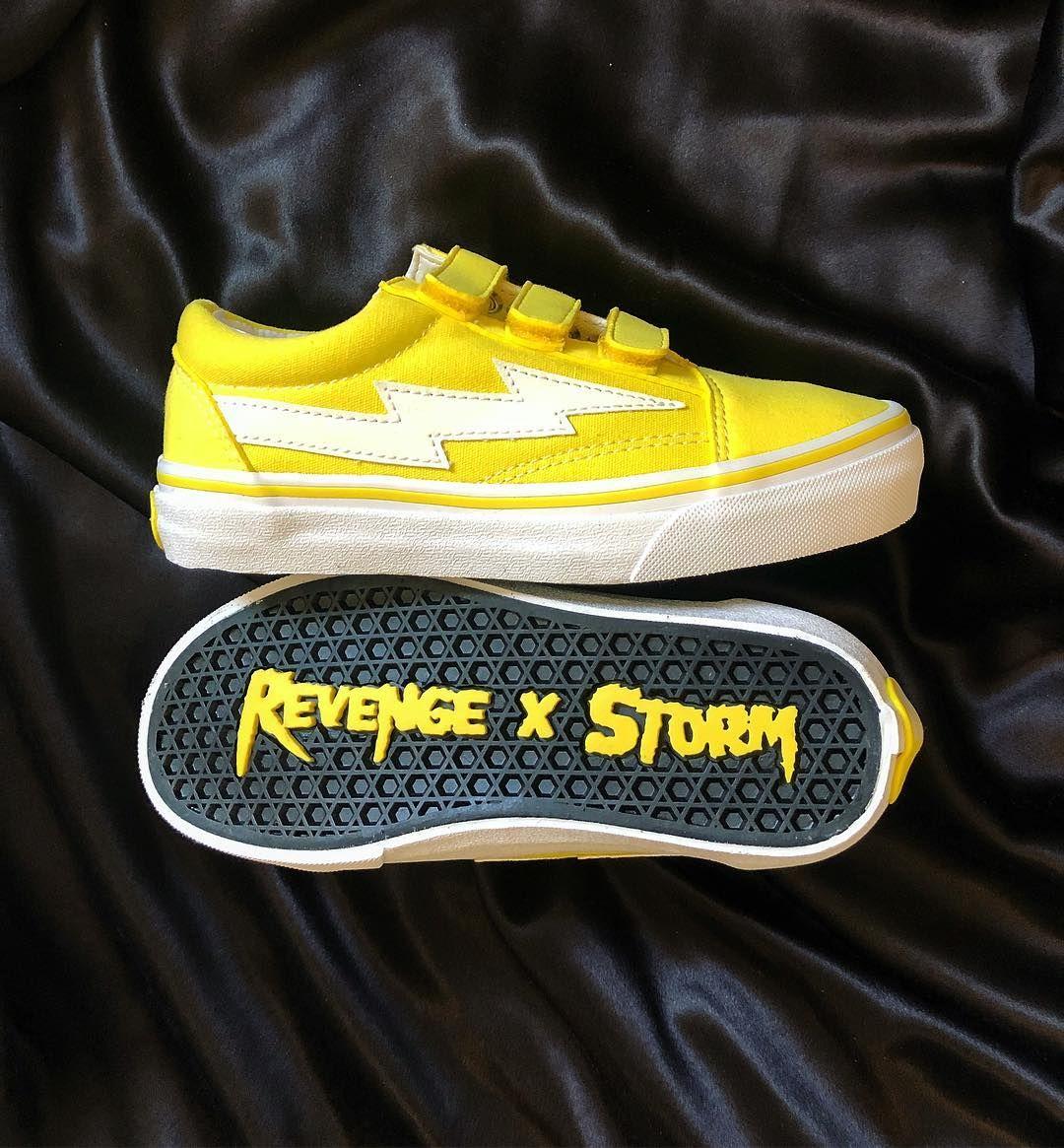 REVENGE STORM VELCRO STRAP | Hype shoes
