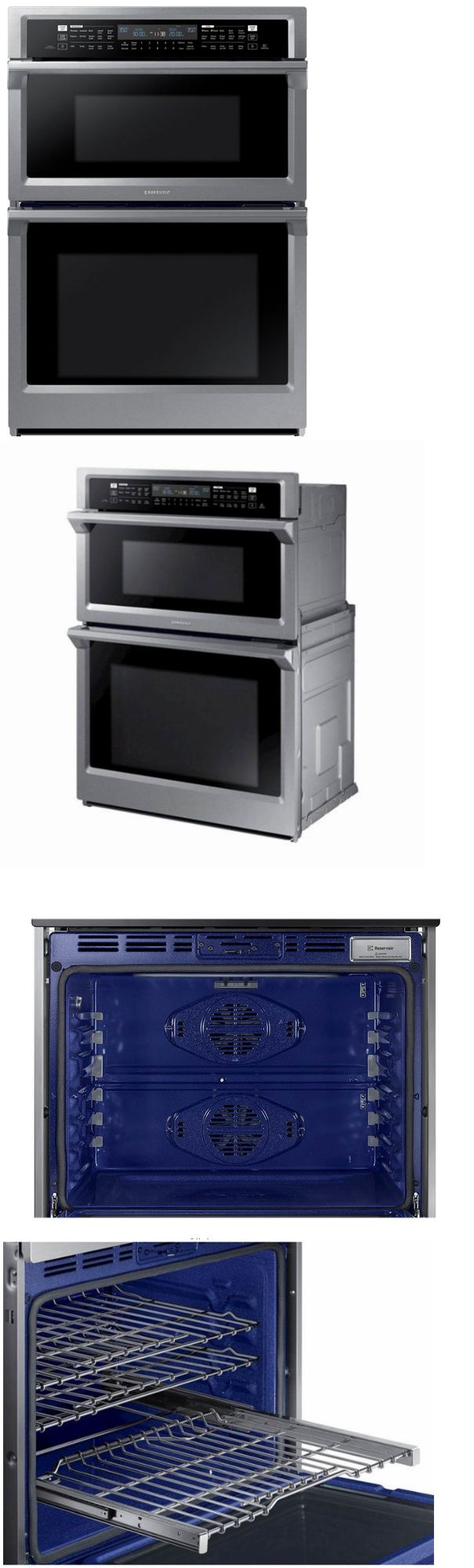 Wall Ovens 71318 Samsung Nq70m6650ds 30 Inch Combination