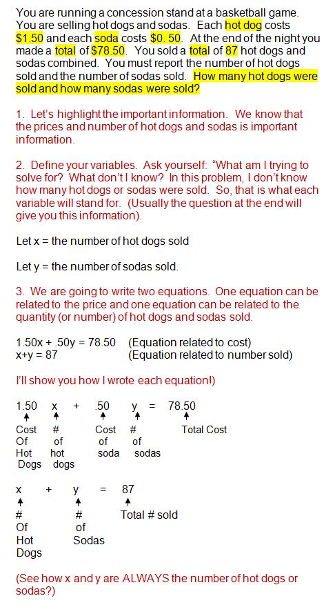 how to write one quarter in algebra
