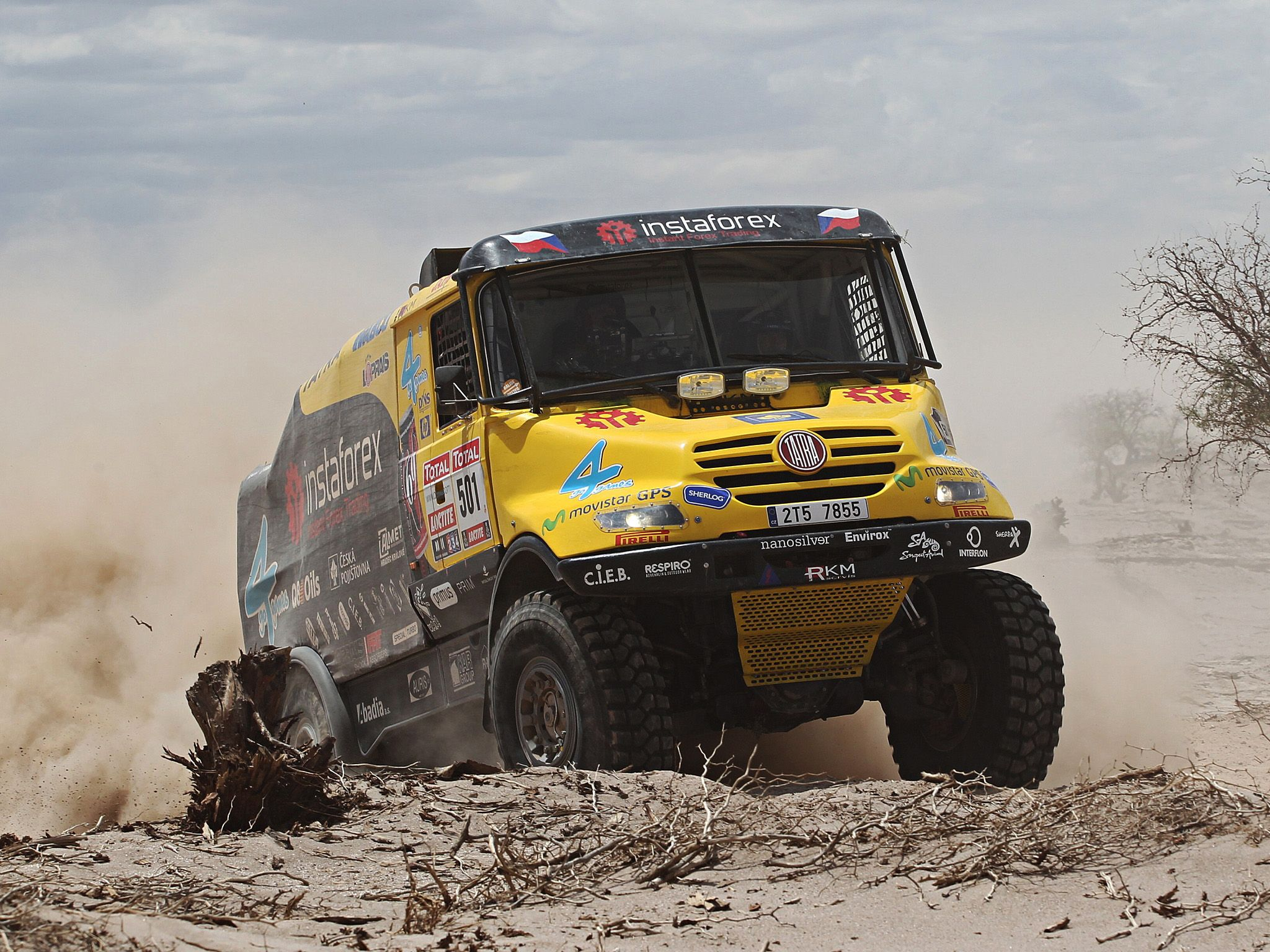 2011 Tatra Yamal Rally Truck offroad 4x4 race racing gg wallpaper ...