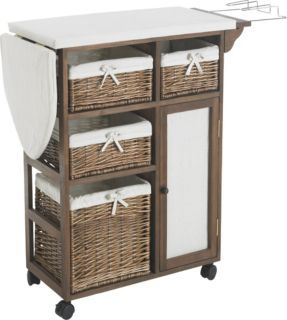 Ironing board with storage for the home pinterest for Mesa para planchar