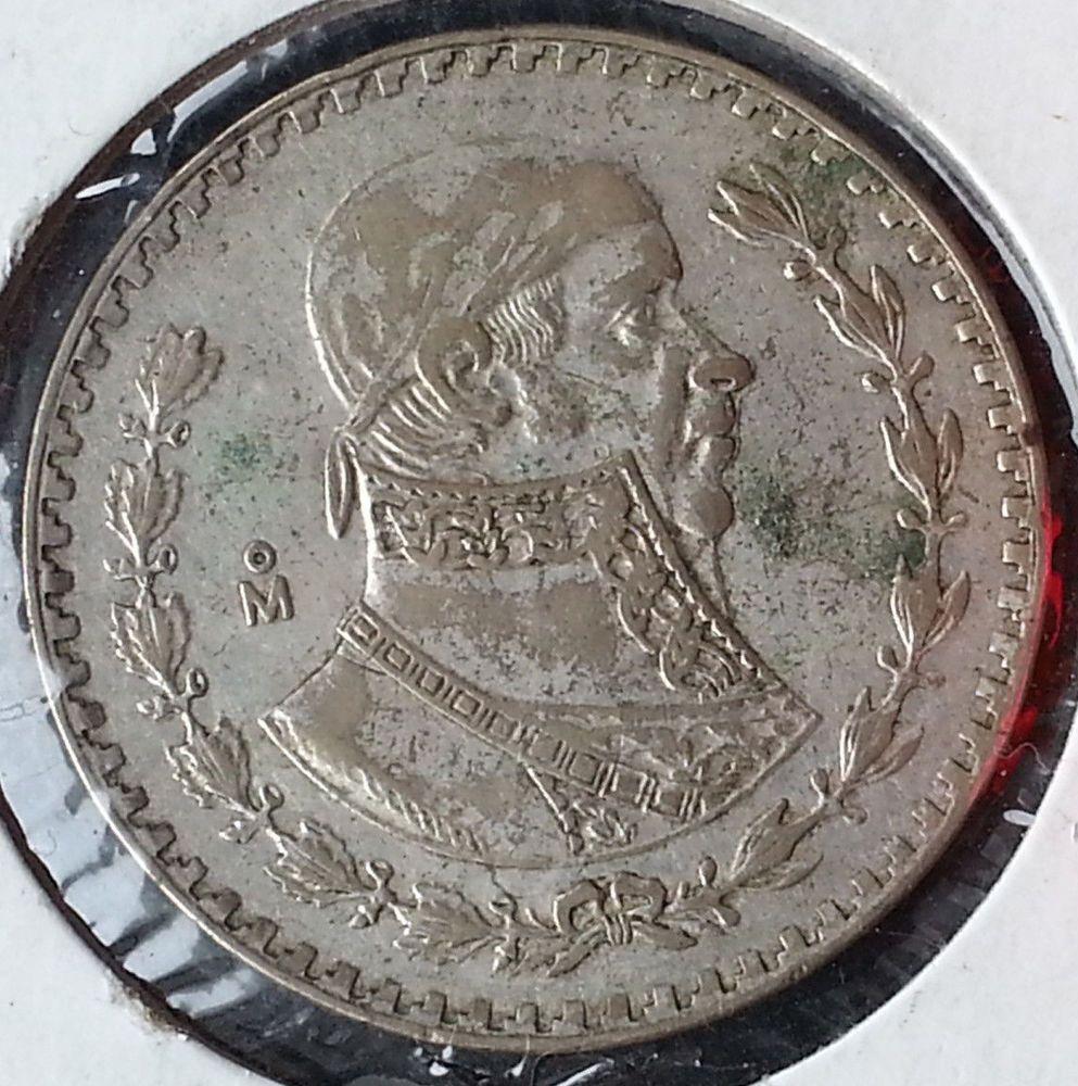 1958 Mexico Silver Peso Cool Coin Libertad Independencia Morelos Nice Money Ebay Coins Libertad