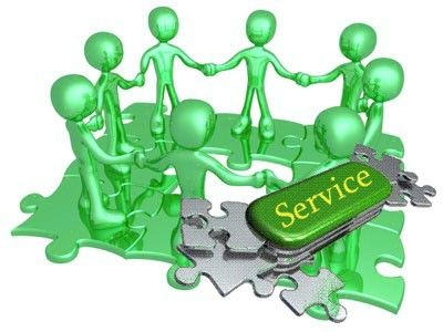 Service!  I am here to serve...not complain!