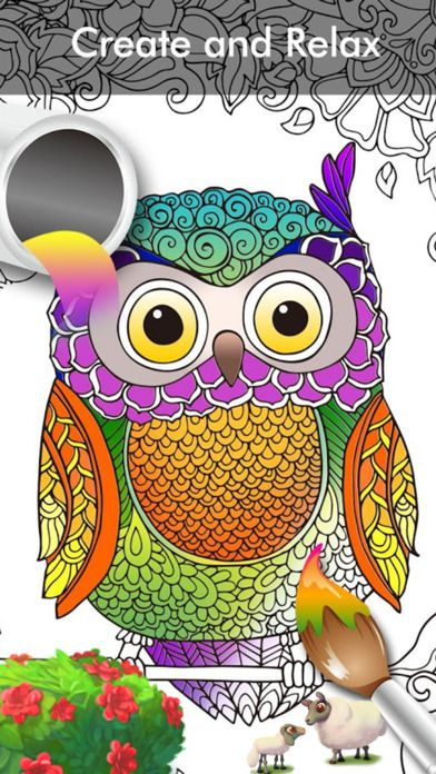 Buffly 2du8jiv Color Painting Coloring ItunesColoring BooksPencilAppleMandalasQueue Colorfy