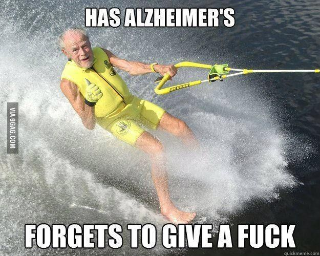 This 90 Year Old Barefoot Waterskier Funny Pictures Funny Funny Memes