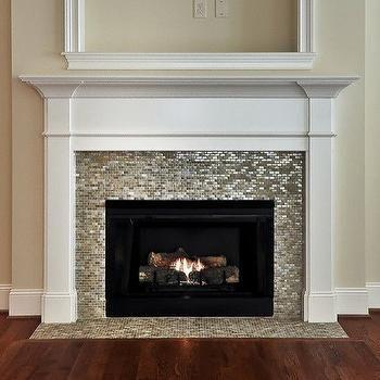 Mosaic Tiled Fireplace | Home sweet home | Pinterest | Mosaic tile ...