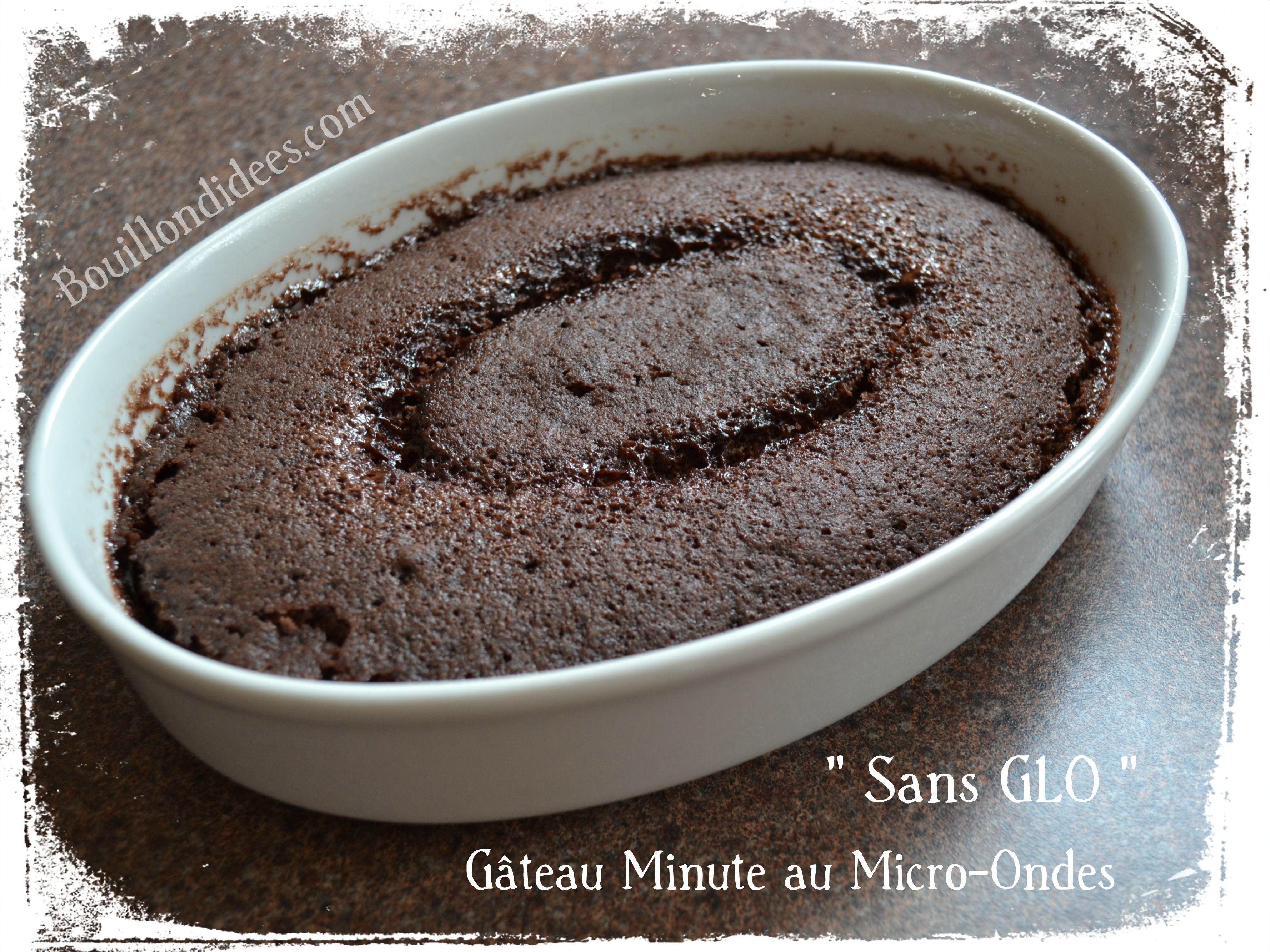 Gateau Minute Express Micro Ondes Sans Glo Sans Gluten Lait Plv