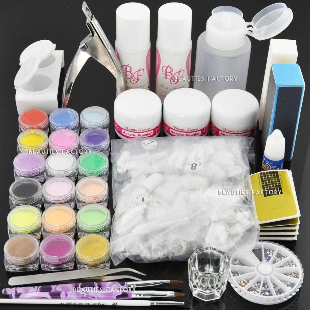 Premium Acrylic Nail Set C *** More info could be found at